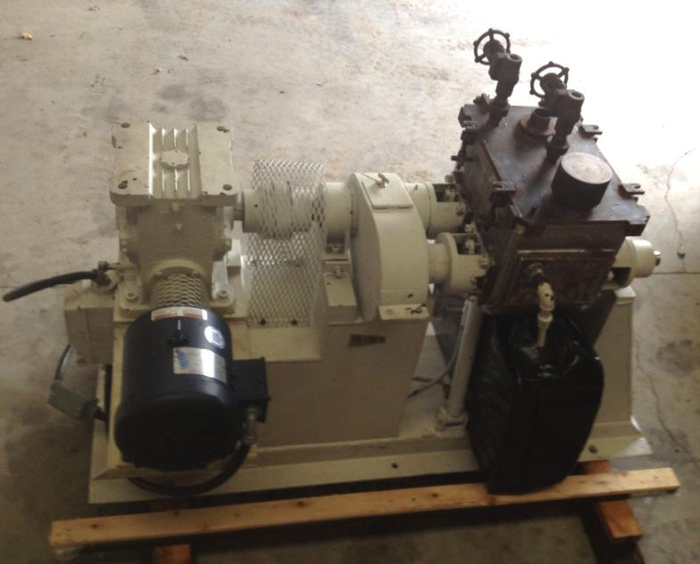 6 Gallon PAUL O ABBE INC. Jacketed and Vacuum Rated Sigma Blade - Double Arm Mixer