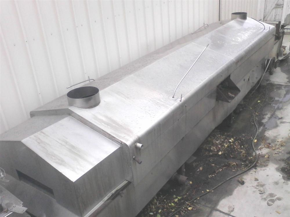 Tortilla Fryer with Stainless Steel Gas HX