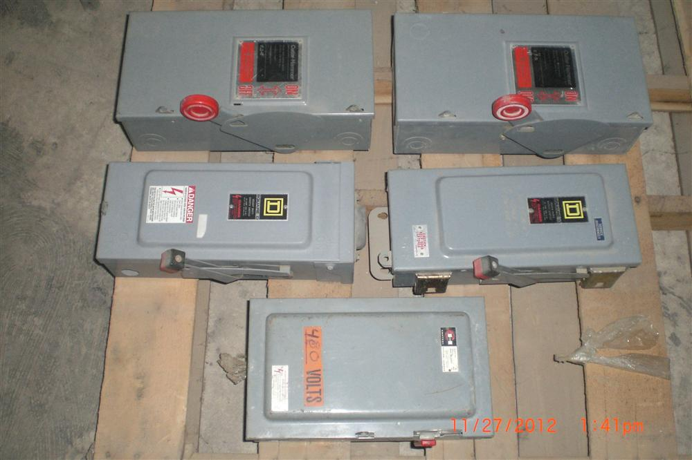 30 AMP Fused Safety Switches