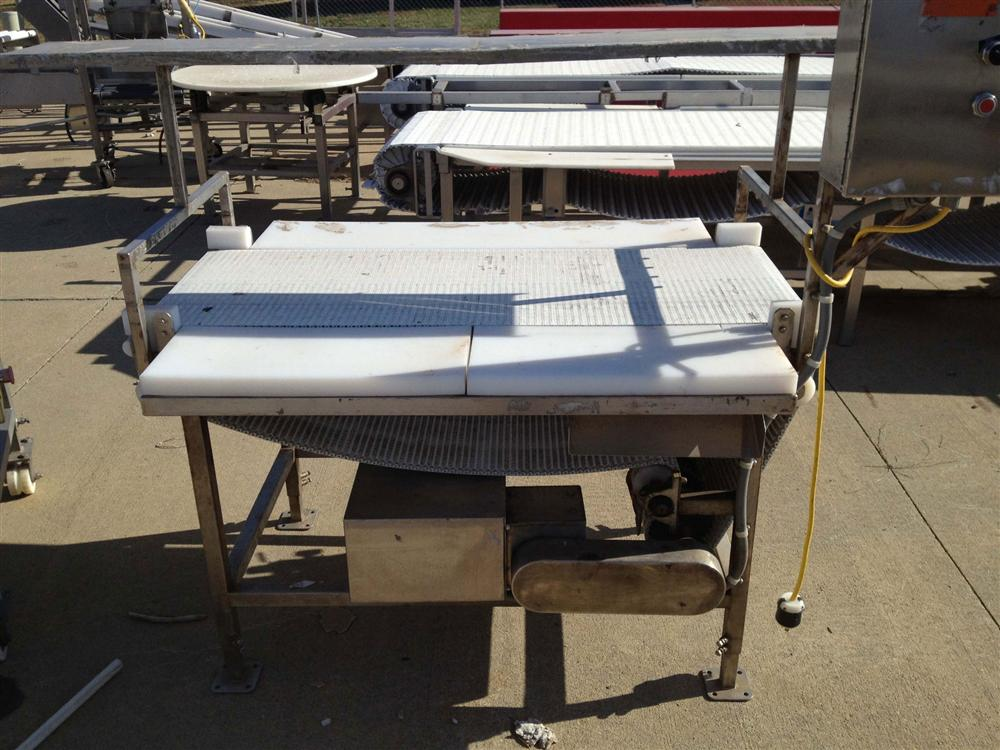 "34"" x 55"" Conveyor with Cutting Boards"