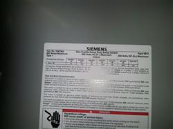 Image SIEMENS Heavy Duty Safety Switch 389090