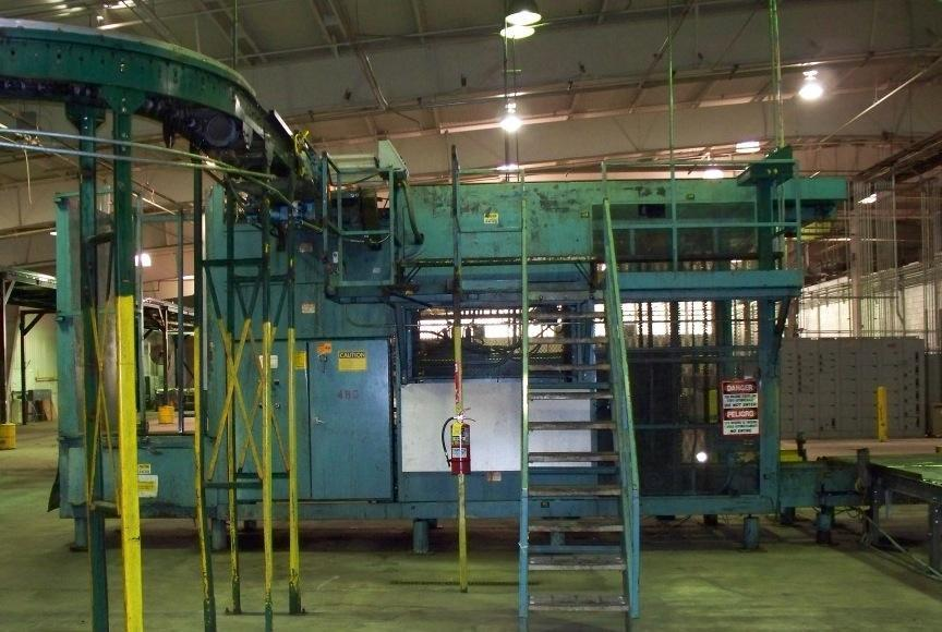 VON GAL P7500 High Level Palletizer