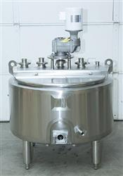 151612 - 100 Gallon Batch Pasteurizer