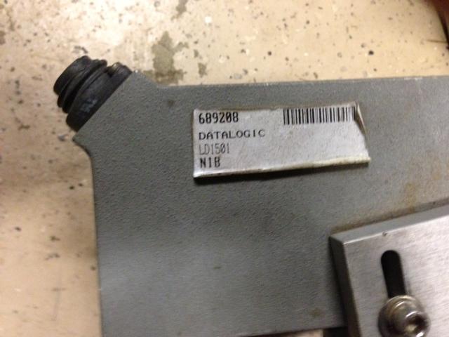 Image UV Data Logic Aluminum Adjustable Plate to Hold Photo Eye 396504