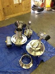 152668 - CORA INTERNATIONAL 316 L Butterfly Valves