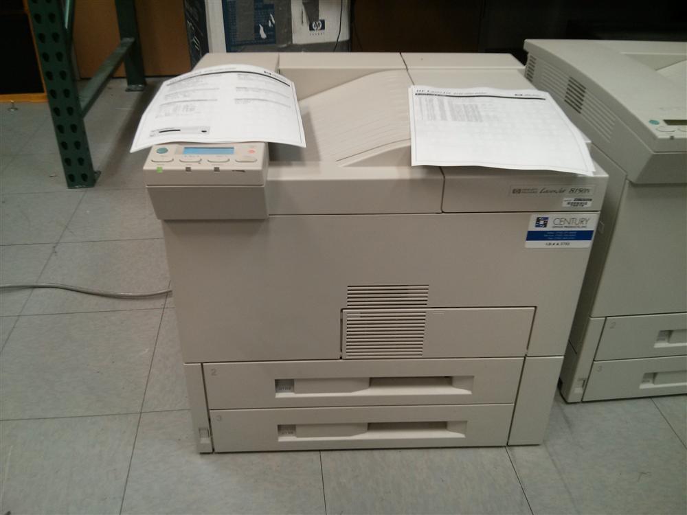 HP 8100 Series Printers