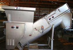 153200 - CFS Stainless Steel Hopper/Mixer with SS Screw Auger Incline