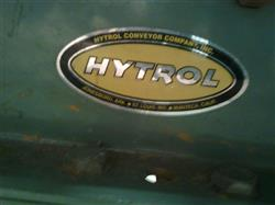 "153240 - 105'x 15"" HYTROL Section of Air Flow Conveyor with (4) Blowers"