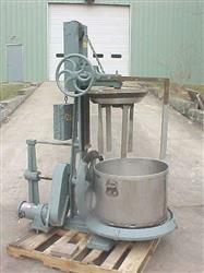 Image 40 Gal J.H. DAY Stainless Steel Pony Mixer  404695