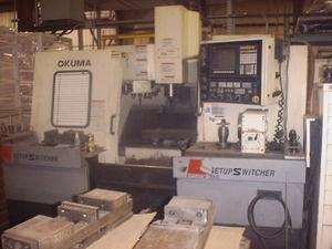 OKUMA CADET MATE V4020 Vertical Machining Center
