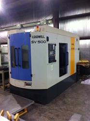 154762 - LEADWELL SV500 Vertical Machining Center