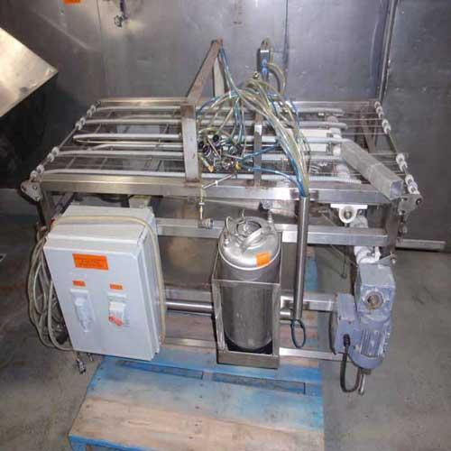 Eatable Glue Sprayer Conveyor