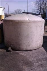 155990 - 1500 Gallon Flat Poly Tank