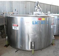 156033 - 1,000 Gallon Stainless Steel Mix Tank