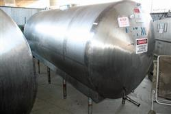 156198 - 1,300 Gallon C.E. HOWARD Horizontal Storage Tank