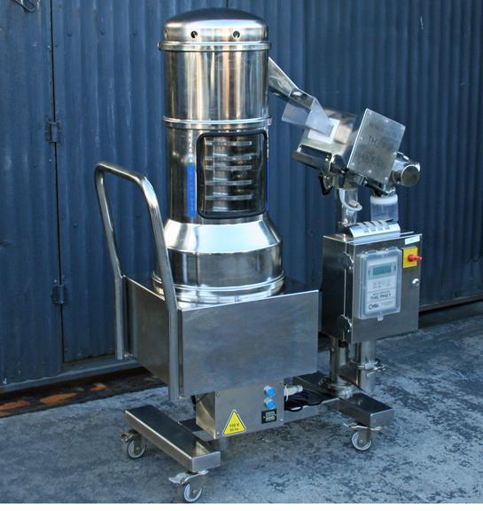 PHARMA-TECH Combi 500 CE Metal Detector/Deduster