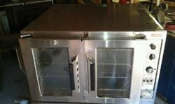 156567 - LANG Marine Double Stack Electric Convection Oven