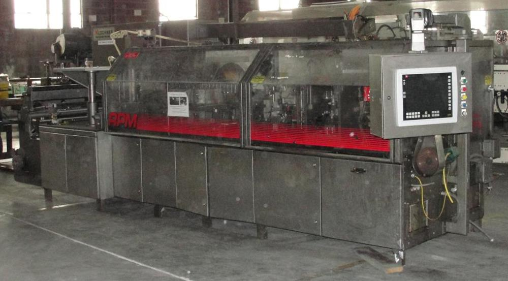 Image KHS KLOCKNER BARTELT Model RPML Horizontal Form, Fill and Seal Machine 490921