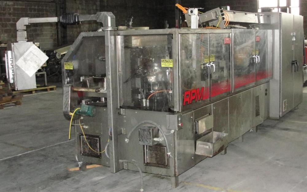 Image KHS KLOCKNER BARTELT Model RPML Horizontal Form, Fill and Seal Machine 490922