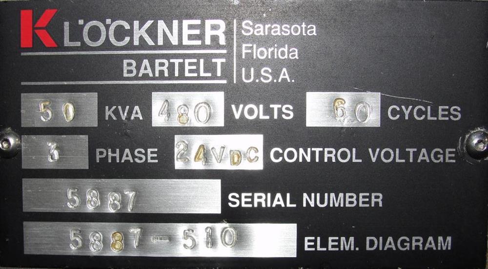 Image KHS KLOCKNER BARTELT Model RPML Horizontal Form, Fill and Seal Machine 490928