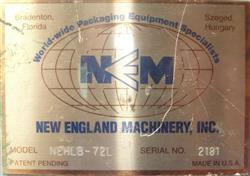 Image NEW ENGLAND MACHINERY Model NEHLB72-L Bottle Unscramber  947203