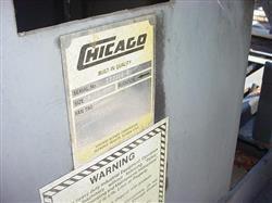 Image 15 HP CHICAGO BLOWER Steel Centrifugal Blower 528399