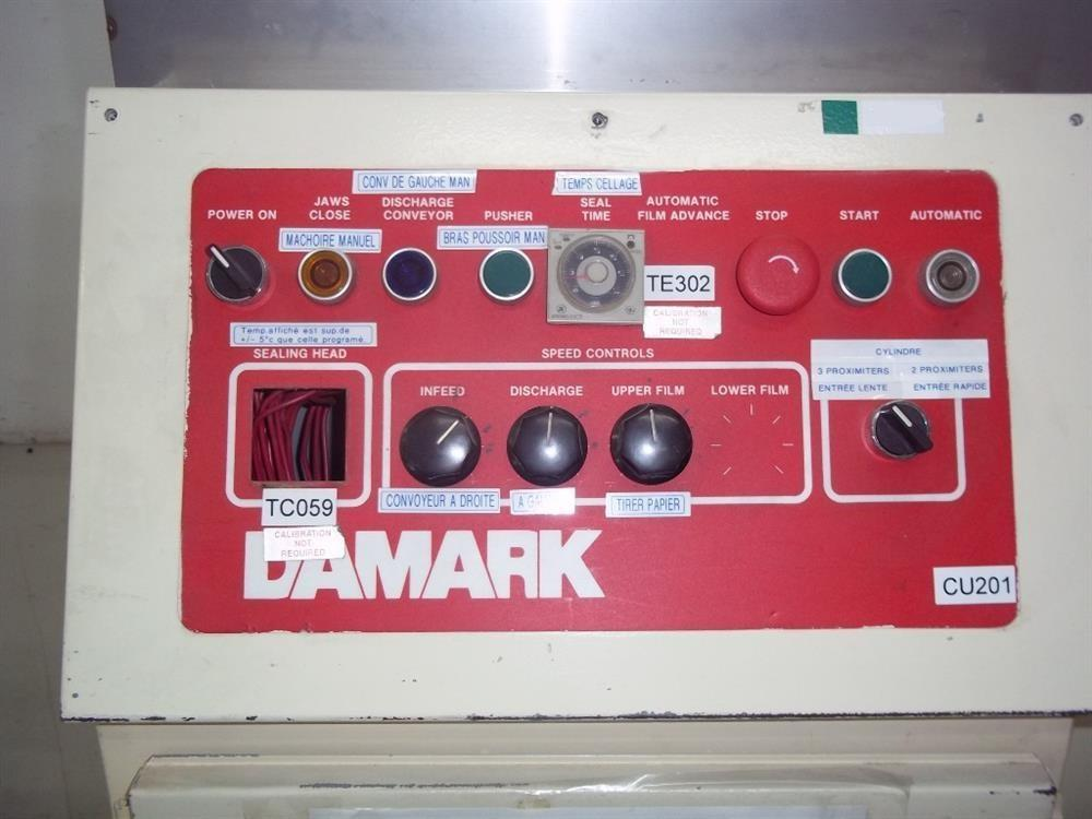Image DAMARK Model FS2-14-RA 90-Degree Shrink Bundler  820742