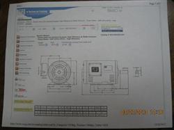 Image WEG 2HP 460V 60HZ Motor 420301