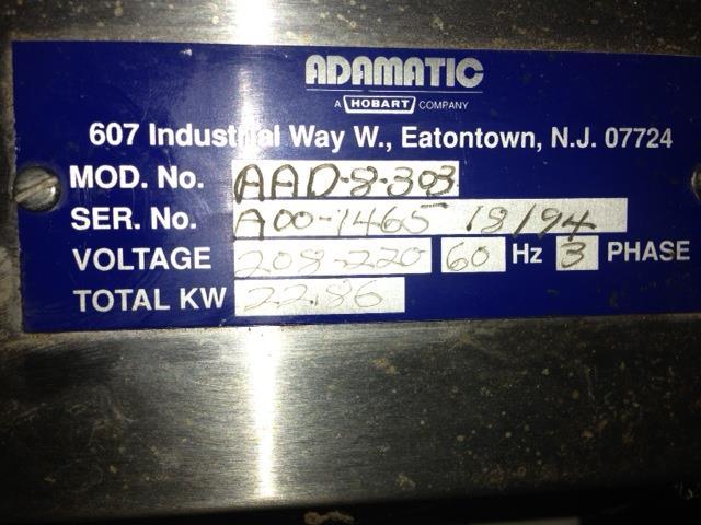 Image HOBART Adamatic Oven 438155