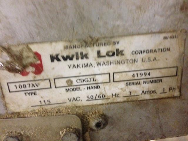 Image KWIK LOC Bag Closing Machines 422612