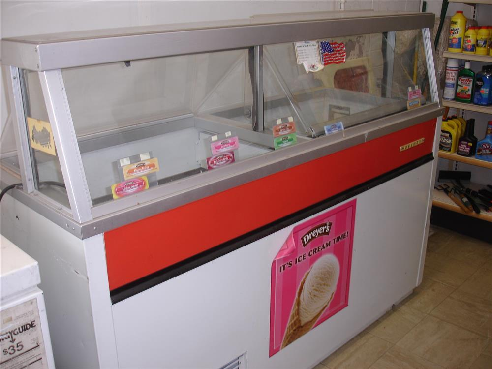 HUSSMAN Ice Cream Dipping C For Sale Used - Dipping cabinet