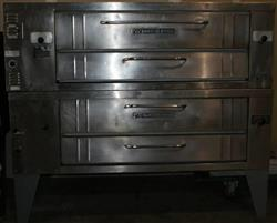 160016 - BAKERS PRIDE Y600 Double Stack Ovens