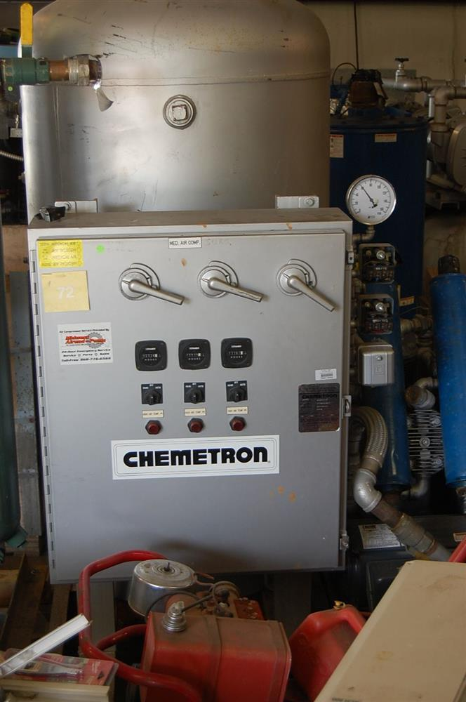 3-15 HP CHEMETRON 3-Compressor Unit