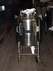 161058 - 100 Gallon LETSCH Stainless Steel Processor
