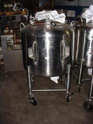 161061 - 125 Gallon LETSCH Stainless Steel Processor