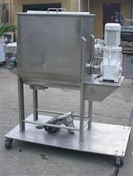 161206 - 50 Gallon LEE Stainless Steel Sanitary Ribbon Blender