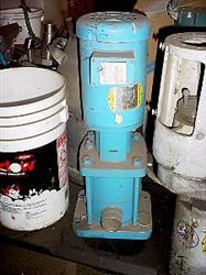 """Image 1.50"""" PACO VM40S-2S2 Stainless Steel Centrifugal Multi Stage Pump 438043"""