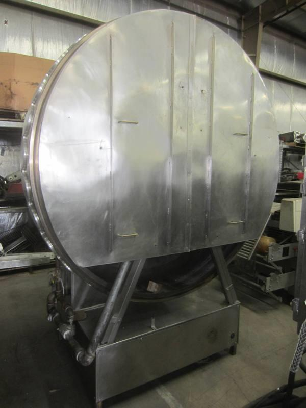 FPM Model 522 Stainless Steel Crepe Machine