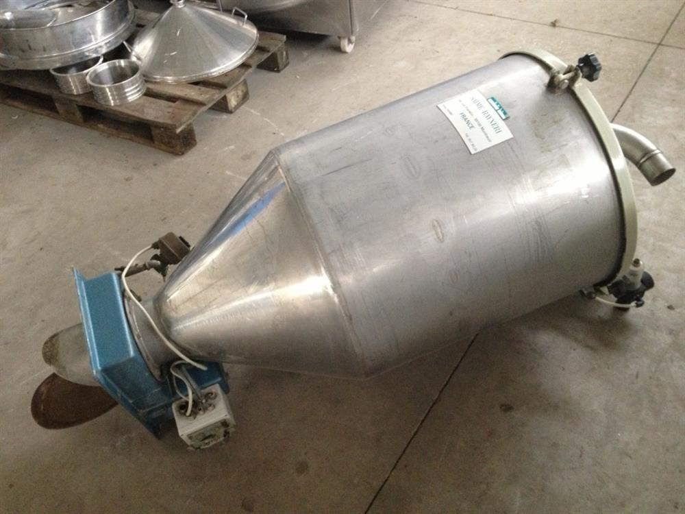 Vacuum Receiver for Pneumatic Conveying
