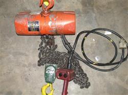 Image 1 Ton CM VALUESTAR Electric Chain Hoise Lift Crane Winch, 1000 KG 446901