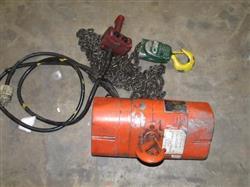 Image 1 Ton CM VALUESTAR Electric Chain Hoise Lift Crane Winch, 1000 KG 446903