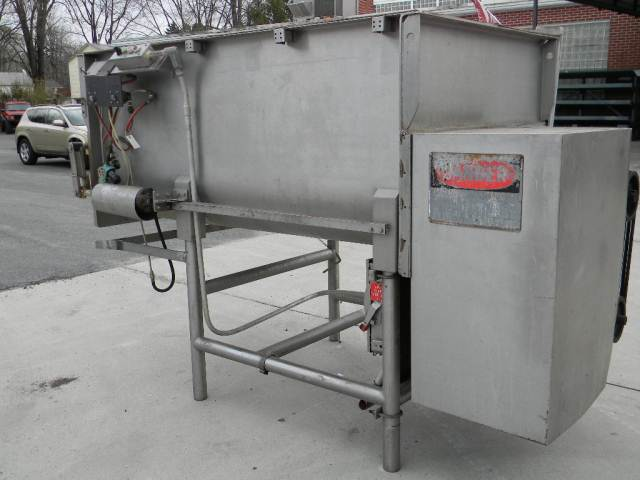 40 cf Stainless Steel Twin Ribbon Mixer