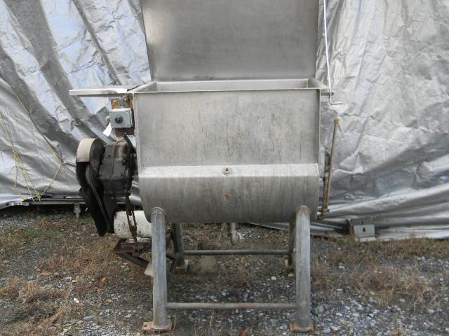 14 cf CUSTOM Ribbon Jacketed Mixer