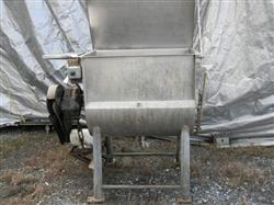 164389 - 14 cf CUSTOM Ribbon Jacketed Mixer