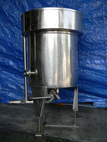 Single Wall Pharmaceutical Grade Tank