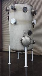 Image 1150 Gallon Stainless Steel Pressure Rated Tank, Dome Top Dish Bottom 452049