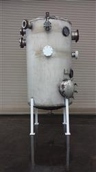 Image 1150 Gallon Stainless Steel Pressure Rated Tank, Dome Top Dish Bottom 452050