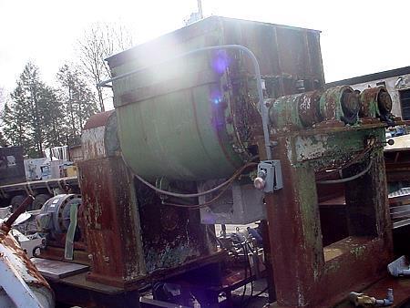 Image 100 Gallon TELEDYNE READCO Stainless Steel Sigma Blade Mixer 453339