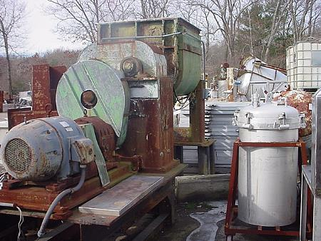 Image 100 Gallon TELEDYNE READCO Stainless Steel Sigma Blade Mixer 453342