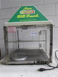 165380 - WISCO Hot Food Case Display